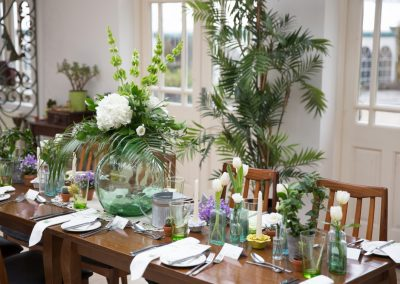 botanical table wedding shearsby bath leicester wretch rascal london